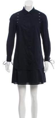 3.1 Phillip Lim Button-Up Mini Dress
