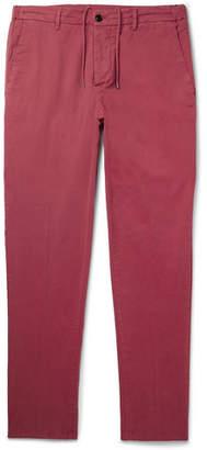 Altea Dumbo Cotton-Blend Gabardine Drawstring Trousers