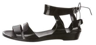 See by Chloe PVC Ankle Strap Sandals