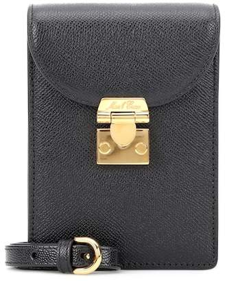 Mark Cross Josephine mini leather shoulder bag