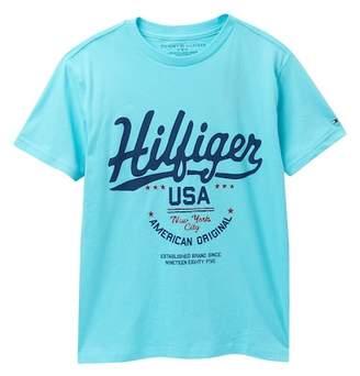 Tommy Hilfiger Historic Short Sleeve Tee (Big Boys)