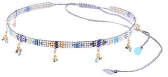 Mishky Yeyi Cristals Beaded Charm Choker Necklace