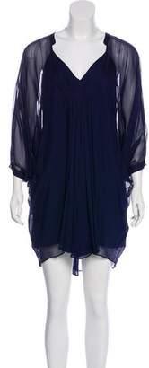 Diane von Furstenberg Silk Fleurette Dress w/ Tags