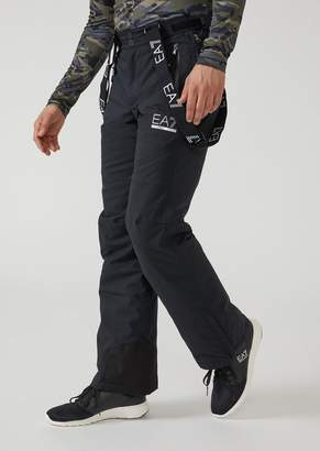 Emporio Armani Ea7 Padded Technical Ski Trousers