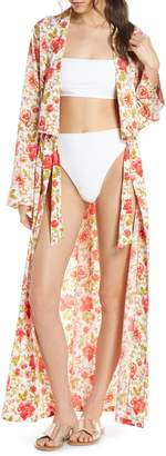 Something Navy Maxi Cover-Up Wrap