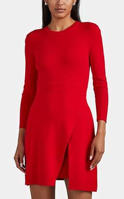A.L.C. Women's Hadley Compact Knit Fit & Flare Dress - Red