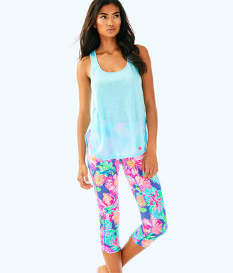 Lilly Pulitzer Womens UPF 50+ Luxletic 21 Weekender Cropped Pant