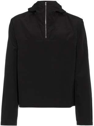 MACKINTOSH 0002 rubberised wool cotton-blend zip jacket
