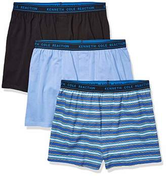8c23192b12b7ff Kenneth Cole Reaction Men's Underwear Cotton Spandex Knit Boxer Brief
