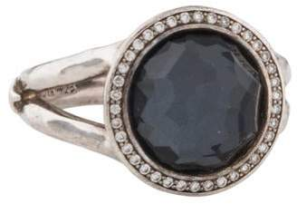 Ippolita Stella Lollipop Diamond & Hematite Ring