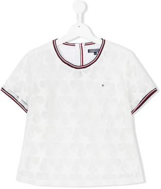 Tommy Hilfiger Junior TEEN mesh star T-shirt