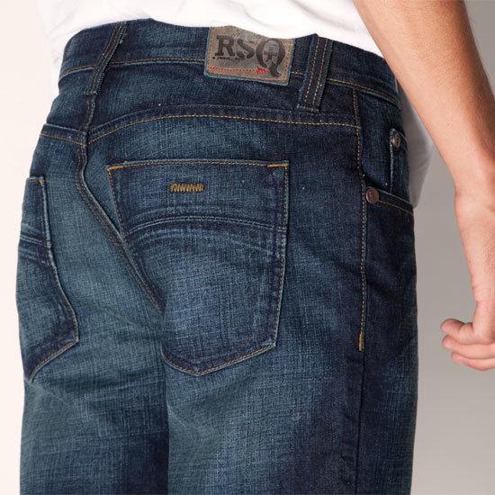 RSQ New York Slim Straight Mens Jeans