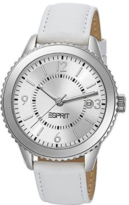 ESPRIT Women's ES105142002 Marin Eclipse White Analog Watch $63.90 thestylecure.com
