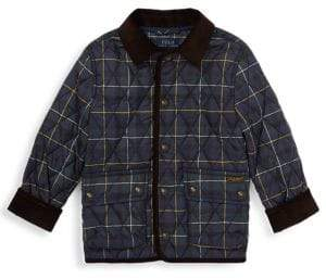 Ralph Lauren Little Boy's& Boy's Kempton Quilted Down Checker Jacket