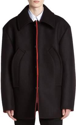 Raf Simons Wool Caban Jacket