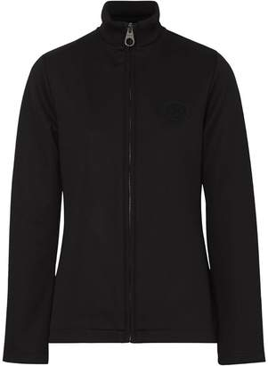 Burberry Crest Detail Funnel-neck Track Top