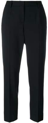 Dolce & Gabbana striped side panel cropped trousers