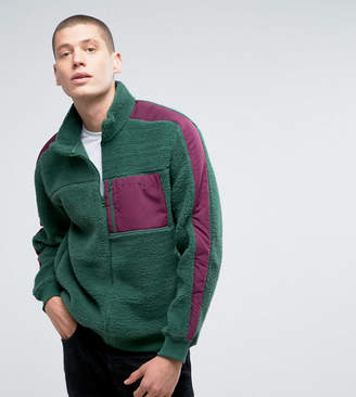 Puma Borg Jacket In Green Exclusive to ASOS 57658401