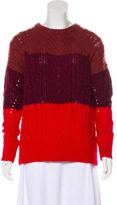 Marc Jacobs Wool Cable Knit Sweater