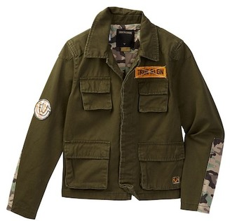 True Religion Military Jacket (Little Boys) $119 thestylecure.com