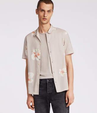 AllSaints Rosarito Hawaiian Shirt