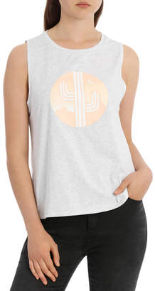 Miss Shop Graphic Tee Muscle Tank (Desert Sunset)