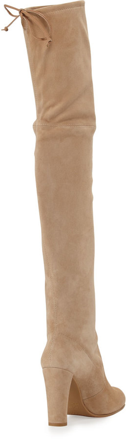 Stuart Weitzman Highland Suede Over-The-Knee Boot 4