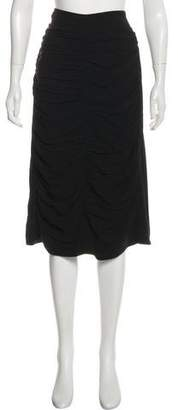 Marni Ruched Knee-Length Skirt w/ Tags