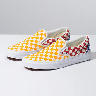 5cfd34c03ece Womens Vans Checkerboard Slip On - ShopStyle