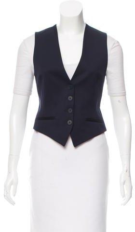Stella McCartneyStella McCartney V-Neck Cropped Vest