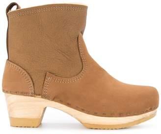 No.6 platform cowboy ankle boots