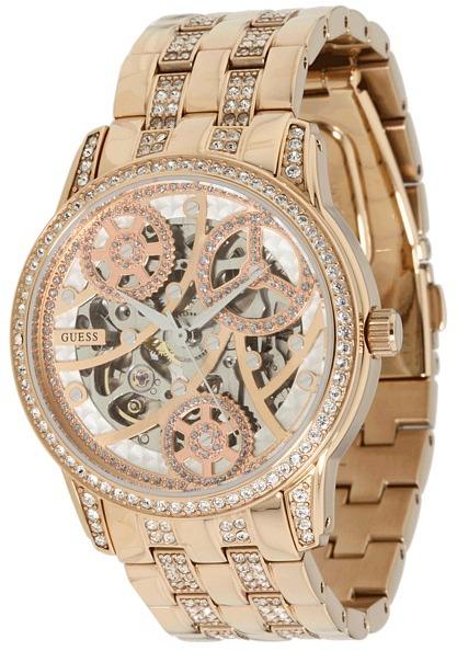 GUESS U30003L1 Elegant Automatic Watch - ShopStyle - photo #13