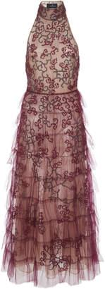 J. Mendel Midi Cocktail Dress