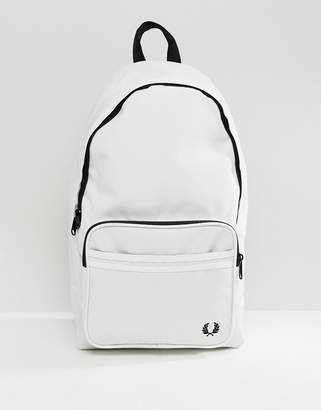 Fred Perry Twin Tipped Backpack in White