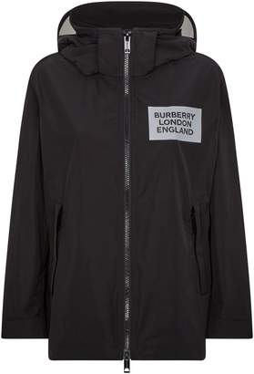 Burberry Logo Waterproof Jacket