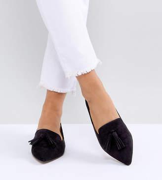 Laurèl Asos Design ASOS Wide Fit Ballet Flats