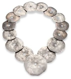 Ralph Lauren Collection Round Disc Necklace $1,950 thestylecure.com
