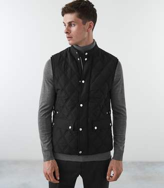Reiss Drake Premium Quilted Gilet