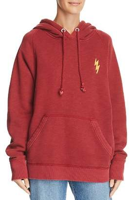 Rag & Bone Racer Lightning Hooded Sweatshirt