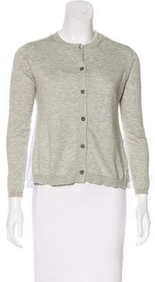 Miu Miu Knit Button-Up Cardigan