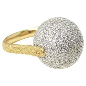 Bottega Veneta Yellow gold ring