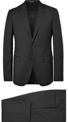 Lanvin Charcoal Slim-Fit Wool Suit - Men - Charcoal
