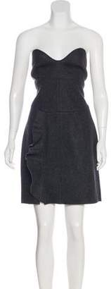 Isabel Marant Wool Strapless Dress