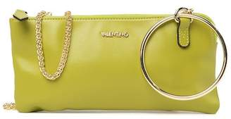 Mario Valentino Valentino By Mina Madras Leather Ring Clutch