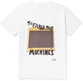 Visvim Printed Cotton-Jersey T-Shirt