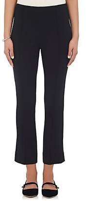 Lisa Perry Women's Ponte-Knit Crop Trousers - Black