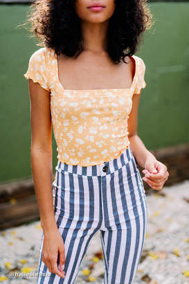 Out From Under Shoreline Square Neck Cropped Top