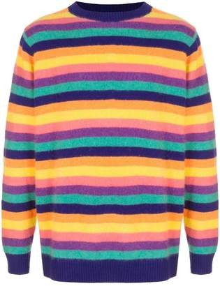 The Elder Statesman Inch Stripe cashmere sweater
