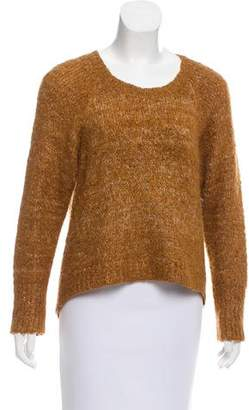 Moussy High-Low Knit Sweater