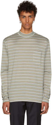 Lanvin Multicolor Long Sleeve Striped T-Shirt